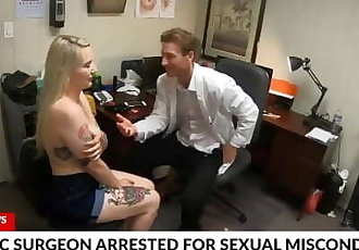 FCK News - Plastic Surgeon Caught Fucking Tattooed Patient