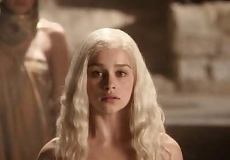 Emilia Clarke - Topless & Bare Butt, Teen Girl - Game of Thrones s01 (2011)