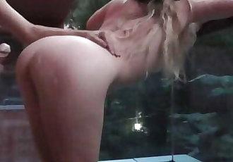 PUBLIC SEX ON BALCON !! BRUTAL FUCK PORNHUB