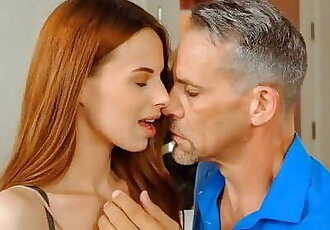 DADDY4K. only Passionate old and Young Fucking can Cheer Chick up