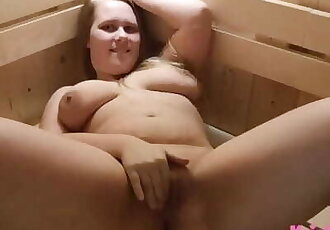 Sauna Voyeur - it couldnt be Hotter!