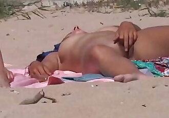 Nude Beach Pussy Play