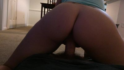 Slut loves bouncing on Daddy\