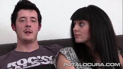 PUTA LOCURA First Time Teen CoupleHD