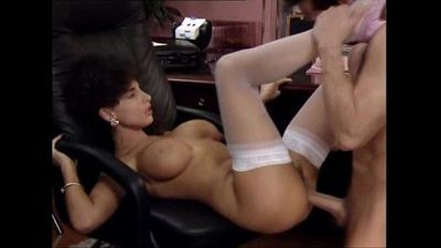 Sarah Young Great Office Fuck With Peter North- Her Body Covered With Cum- But No Facial- 8 min