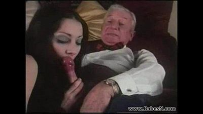 Arab grandad fucking young slut