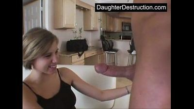 Young daughter fucked