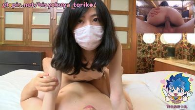 【Japanese Pure Amateur】 Cute College Girl First Creampie(Hana 21yo)