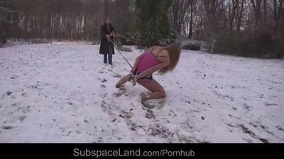 Olga is taken out naked in winter and tormented