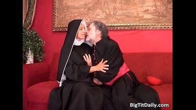 Kinky old guy loves to fuck young