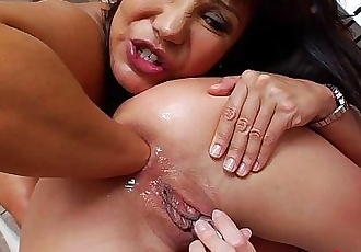 AnalAcrobats Ava Devine Fisted By Julie KnightHD