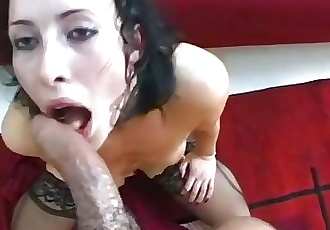 SLAVE GETS THROAT VIOLATED