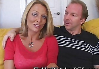 Hot Wife Getting Fed Young Cock - 3 min