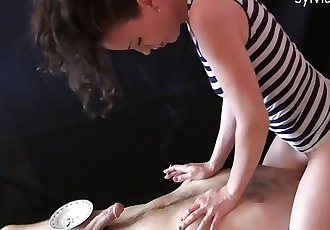 Spitting Femdom Smoking Facesitting & Cock Tease By Sylvia Chrystall
