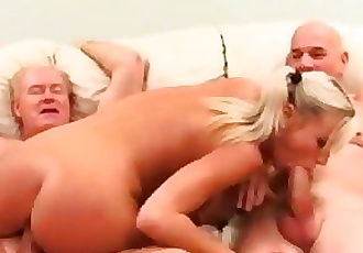 BreeOlson : Im broke so I fucked 2 old guys for 100$