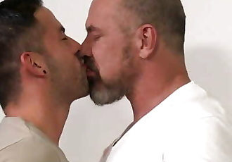 MenOver30 Thick Dick Older Daddy Fucks Younger Latino Boy