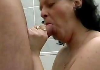 HOT MOM 162 anal granny mature milf german younger man