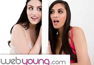 WebYoung Lets Hope 18yo Lesbians GFs Dont Get Caught by Mom