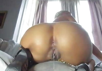 One Minute To Cum Black Creampie Compilation Part 1