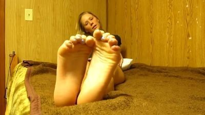 Brooke JOE from The Mouse Pad Cum on Feet