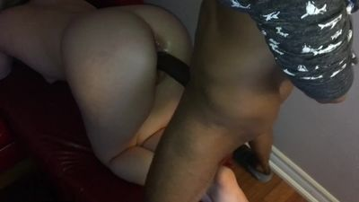 Teen White Girl Struggles To Take Huge BBC But Loves IT! HD