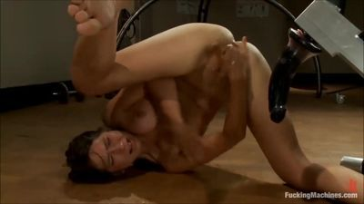 Young Asian Girl Machine Fucked Squirts Uncontrollably For Over 1 Minute!