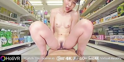 HoliVR _ The Best Creampie and Squirt at CVS