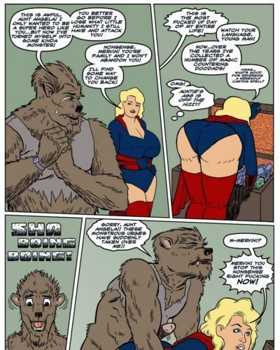 Blonde Marvel - Mervin The Monster