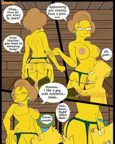 Los Simpsons 5- New Lessons, Croc - part 2