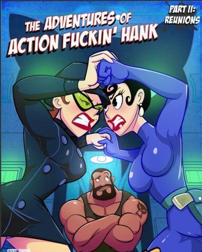 Jab Comix – Adventures of Action Fuckin' Hank 2