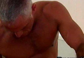 Horny mature stud fucking a hot twink hard anally