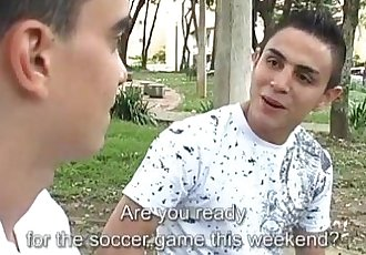 Young Latinos Iker and Alex Bareback Fucking