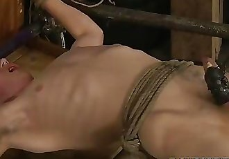 Sebastian Kane tries his new contraption on Eli Manuel