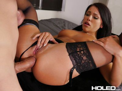 Strong anal sex with brunette Adriana Chechik during supreme XXX hardcore