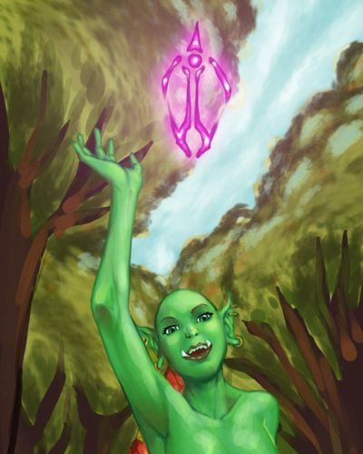 Erotic Fantasy Pictures: WoW Orc - part 2