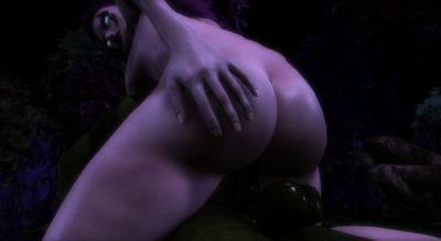 Goblin meets Night Elf - part 3