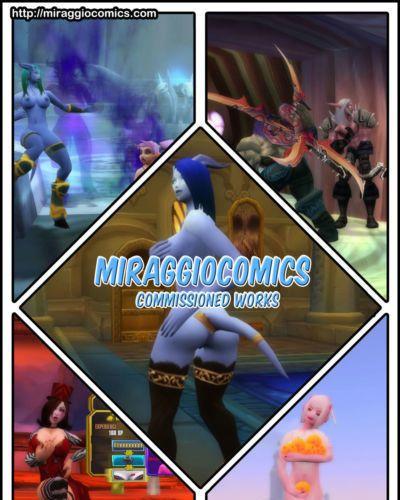MiraggioComics - Commission 3D Art Manipulations