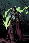 WOW Sylvanas Windrunner and some undead - part 4