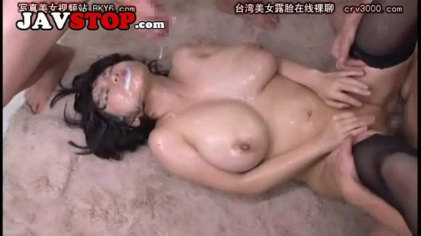 Japanese Busty Shibuya Fucked and Bukkake Orgy