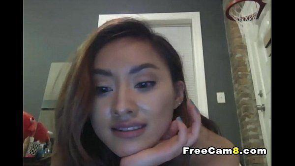 Skinny Small Tits Hot Babe Teasing Naked on Cam
