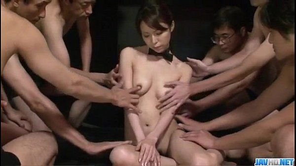 Kotone Aisaki massive group fuck in dirty hardcore