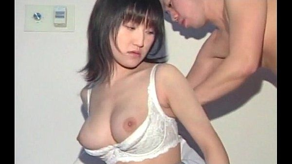 Big titted Asian in school eats and licks man stick in close-up