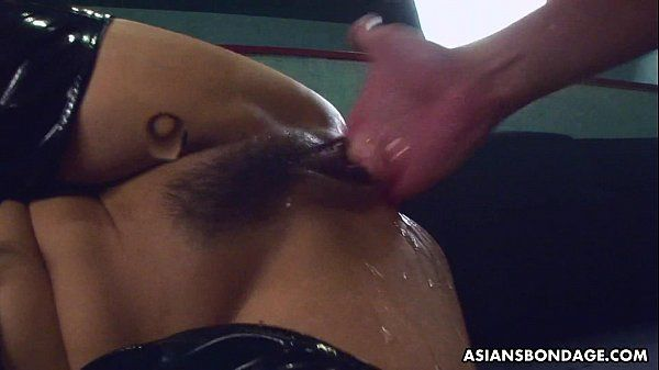 Fucking her wet cunt as she wears her PVC boots HD