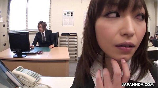 Lady Tsubaki is a sexual freak who gets creamed at the office