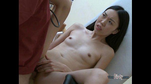 Asian Student Mey Experiences Hardcore Anal Sex