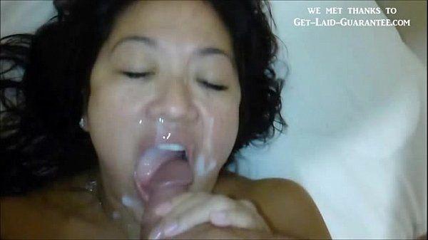 Asian close up facial