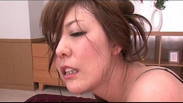 Japanese hairy milf getting her asshole cummed on