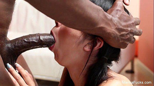 Marica Hase Interracial suck and fuck HD