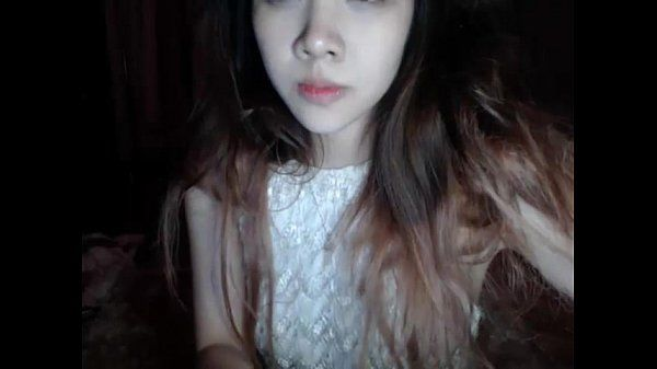 www.HottieCam.tk Hot Asian Teen Masturbates on Webcam