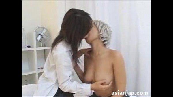 Japanese Lesbian Kiss 2